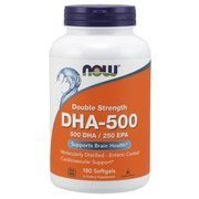Now Foods DHA-500 180 capsules