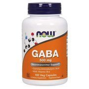 Now Foods GABA 500mg 100 vege capsules